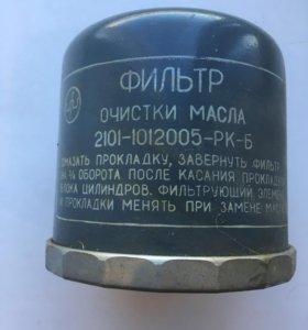Масляный фильтр на ваз 2101