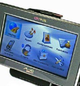 Автомобильный GPS навигатор MITAC Mio