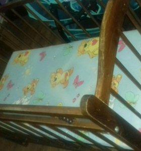 Продается детская кроватка