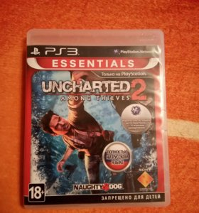 Uncharted 2 Among thieves (sony playstation 3)