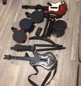 Guitar hero бандл + Xbox 360 + Kinect+ игры