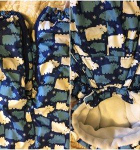 Зимний костюм для мальчика 80 размер