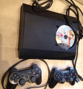 Sony PlayStation 3 super slim 500Гб PS3 CECH 4008C