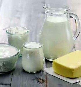 Домашнее Молоко, Сметану, Творог, Масло