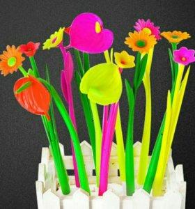 Ручки-цветы.