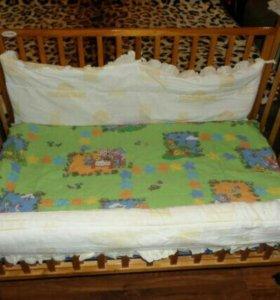 Детская кроватка Goodbaby б/у