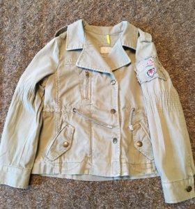 Куртка пиджачок Zara рост 118 на 5-6 лет