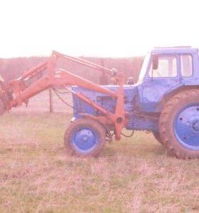 Трактор МТЗ 80 с куном с документами