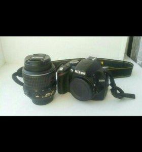 Фотоаппарат Nikon D3200 Kit 18-55 mm