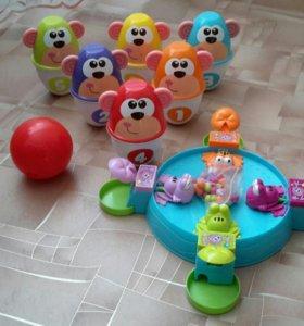 Комплект игрушек для активного ребенка