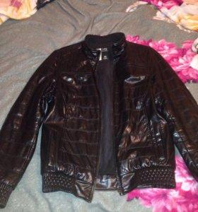 Куртка мужская, кожа зам,