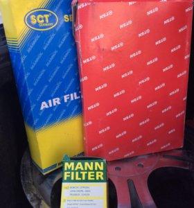 Комплект фильтров для понтиак вайб