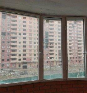 Балконной аллюминиевое остекление