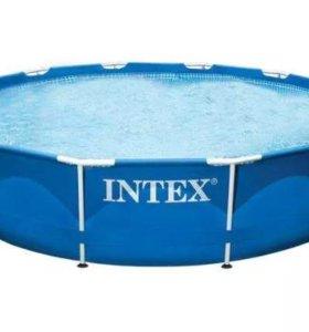 Каркасный бассейн Intex
