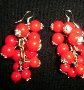 Серьги-грозди