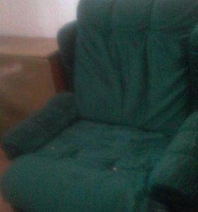велюровые кресла