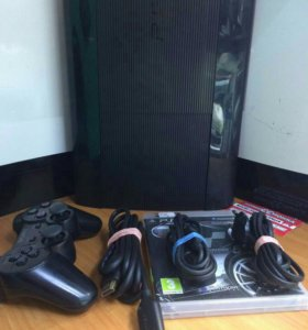 Sony PlayStation 3 Super Slim 500Gb+игра.