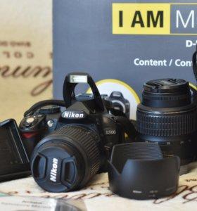 Зеркальный фотоаппарат Nicon D3100