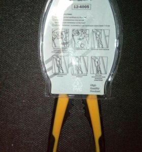 Клещи для автозачистки проводов и зажима контактов