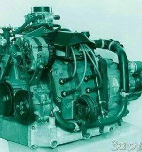 Роторно -поршневой двигатель