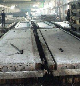 Плиты перекрытия ПК и ПБ60.12-8 новые