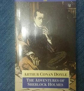 "Книга ""Приключения Шерлока Холмса"" на английском"