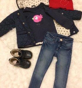 Одежда на девочку mothercare h&m Next