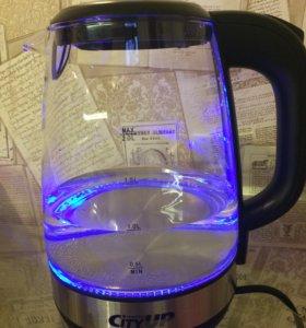 Чайник электрический со светодиодной подсветкой