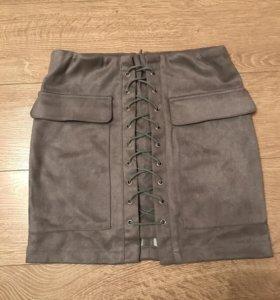 Новая юбка (замша)