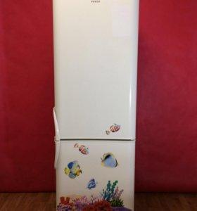 Холодильник б/у Индезит.Гарантия