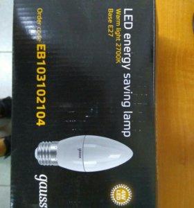 Лампа светодиодная Gauss (10шт)