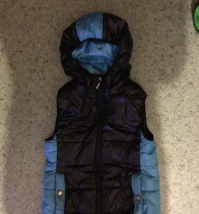 Осенняя куртка и жилетка