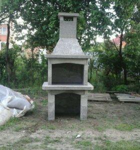 Барбекю печь