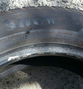 Зимние шины 225х65х17.