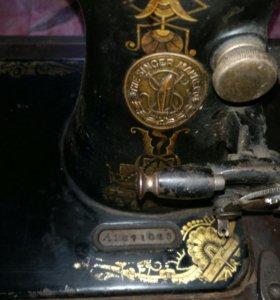 """Швейная машинка """"Zinger"""" 1874г."""