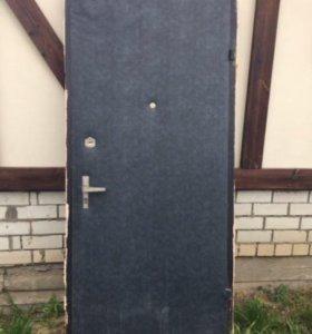 Б/у железная дверь