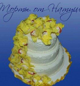 Шикарный свадебные торты