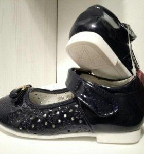 Новые туфли 25 р-р