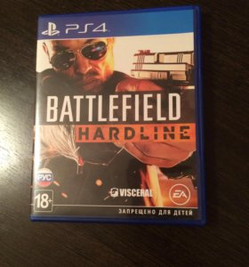 "Диск для PS4 ""Battlefield Hardline"""