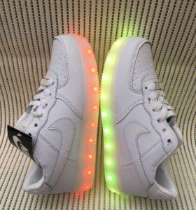 LED кроссовки