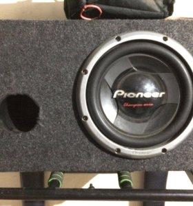 Pioneer TS-W308D4 сабвуфер