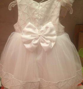 Детское платье 1-2года