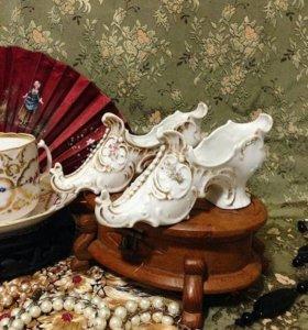 Фарфор шкатулка посуда антиквариат