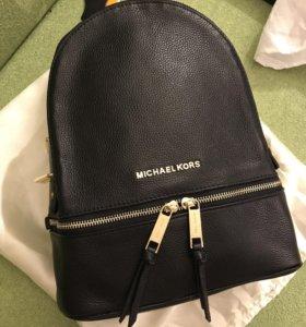 Рюкзак Michael kors rhea real leather