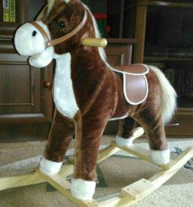 Лошадка качалка