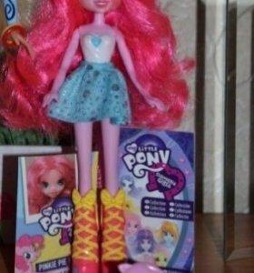 My little pony Equestria girls Пинки Пай