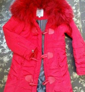 Теплая куртка Silvian Heach на 2-4 года