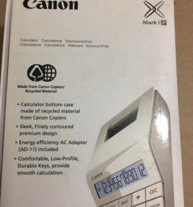 Калькулятор с печатью