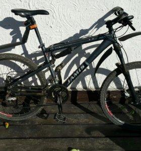 Велосипед двуподвес jamis 17'