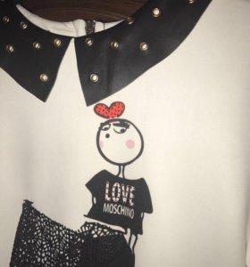 Новое платье Moschino